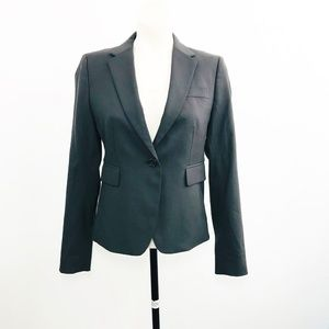 J.Crew Wool Blazer Size 2 Womens Fitted Career